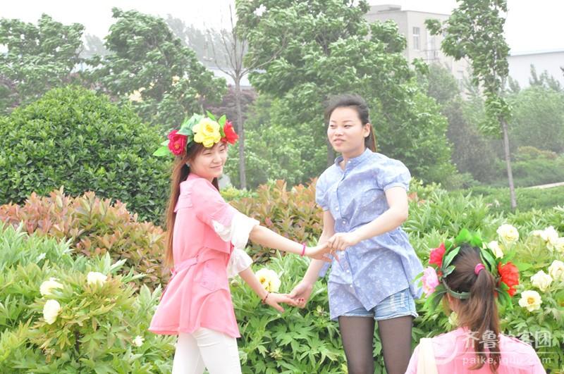 鲜花与美女 菏泽拍客 齐鲁