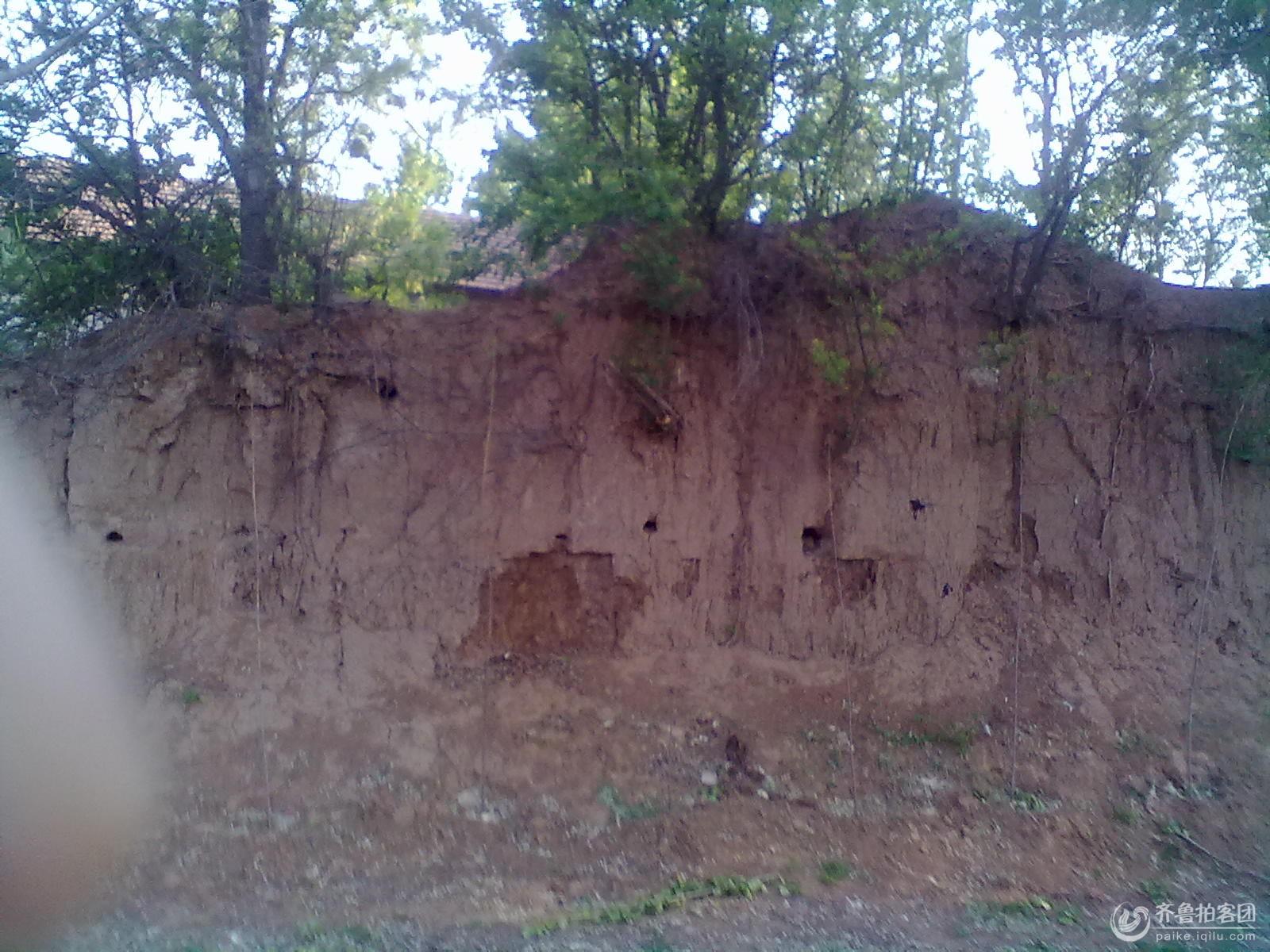 山东省潍坊市峡山区的城墙遗迹