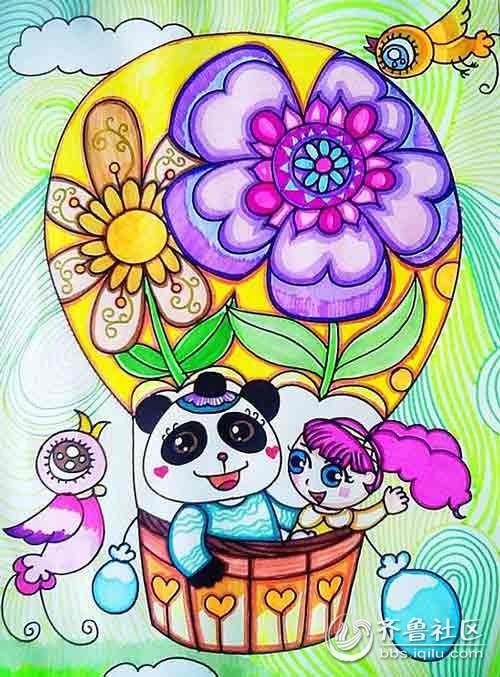 【儿童画大象的画法】高清下载