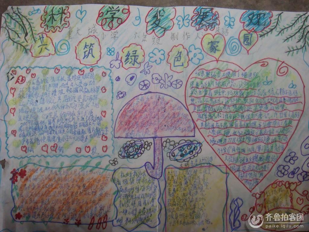 孩子们的手抄报 - 济宁拍客 - 齐鲁社区 - 山东最大的