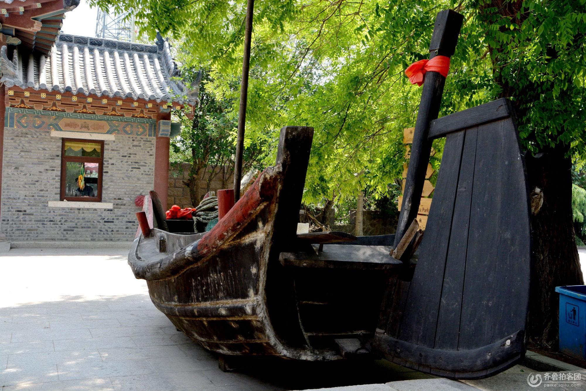 【山东去哪玩】青岛韩家民俗村--揽千年渔盐古镇 .