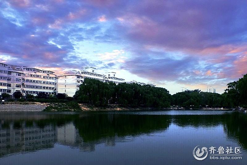 昌乐西湖公园风光高清图片