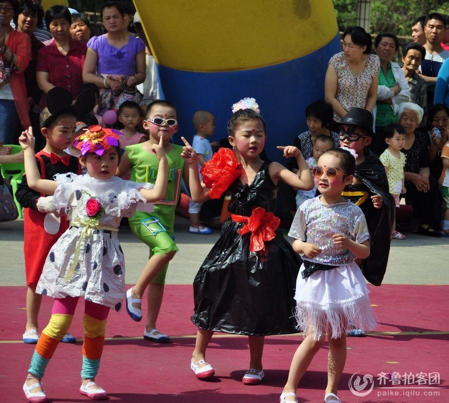 儿童时装表演图片
