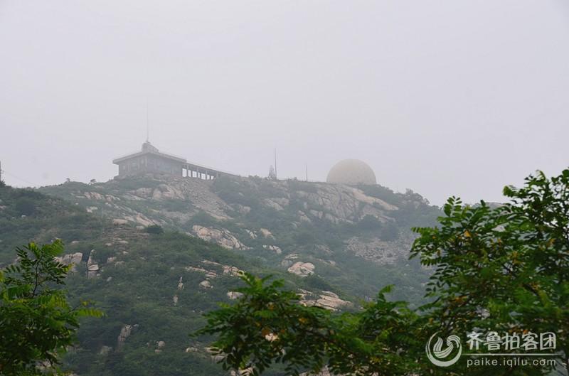 美景就在身边——莱芜莲花山通天谷-莲花尖-雷达站穿越