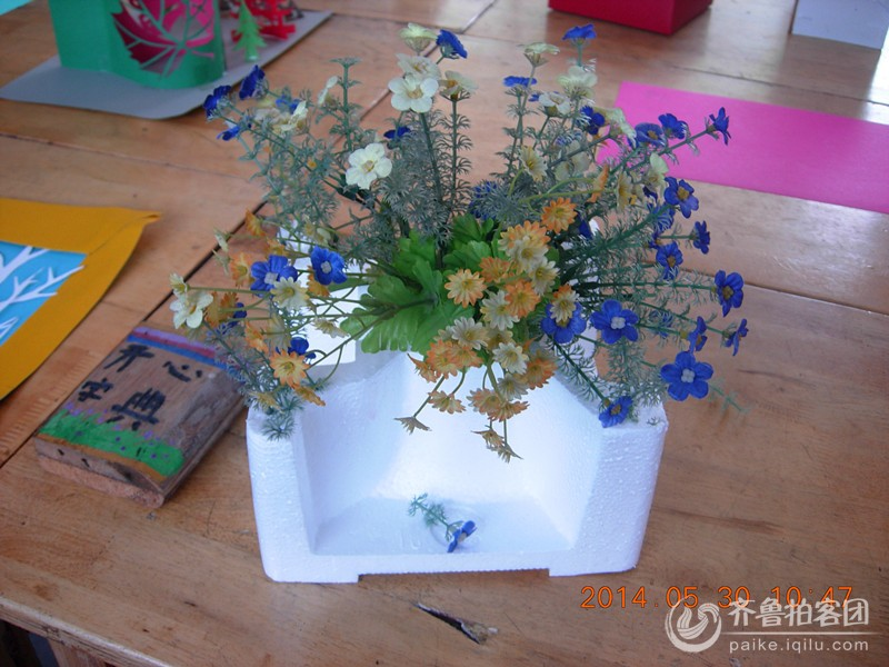"""小学生利用废弃物制作工艺品------庆祝""""六五""""世界日"""