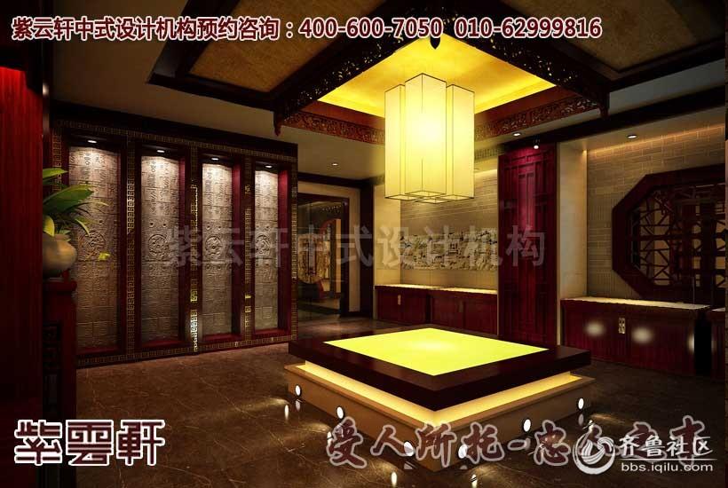 中式龙泉宝剑会馆展厅设计装修之中,要运用一系列人文的思想以及