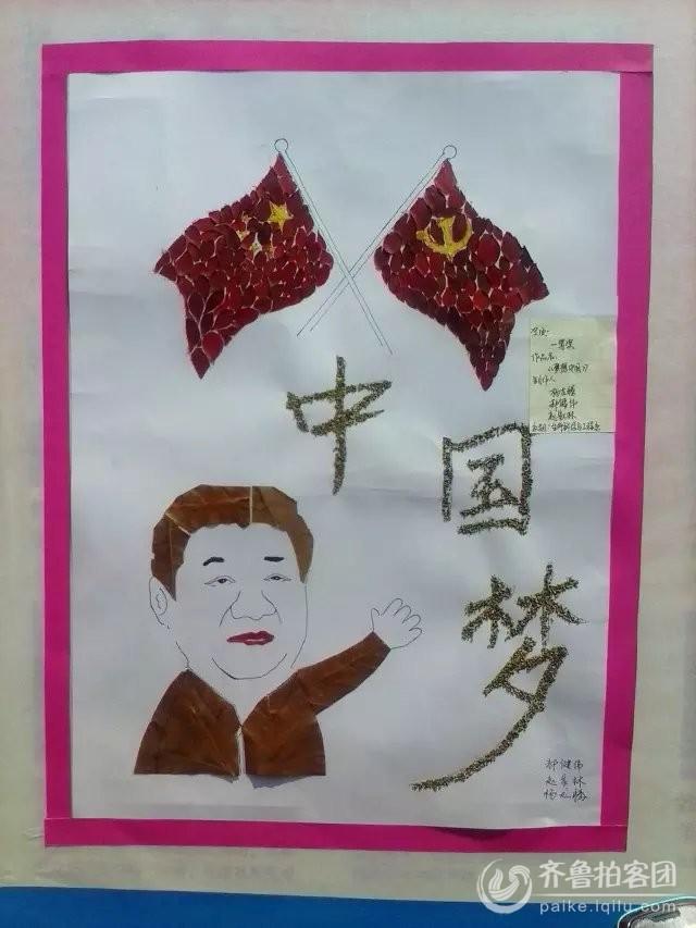 济宁学院植物标本创意大赛获奖作品图片