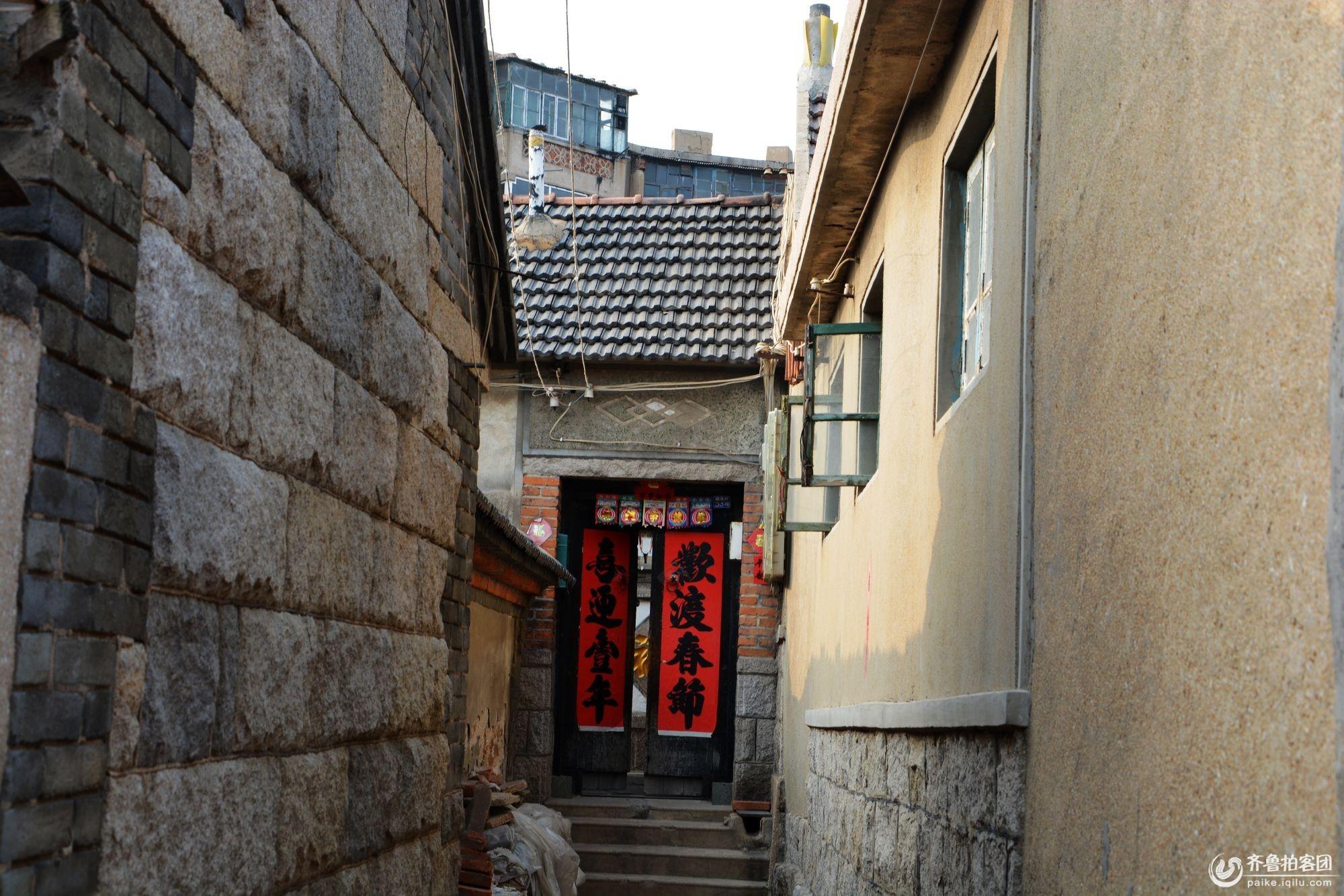 今日青岛老沧口百年城中村---晓翁村