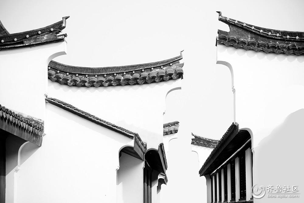 69 济南市摄协官方论坛 69 高新区 69 古今建筑黑白线条   本帖