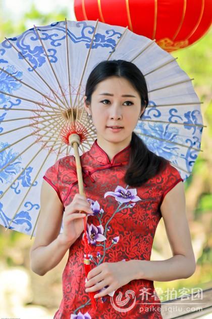 旗袍美女 - 上海拍客 - 齐鲁社区 - 山东最大的城市