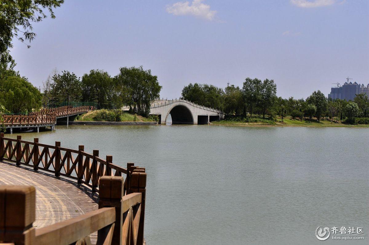 69 商河县 69 澄波湖小景  澄波湖风景区位于济阳县济北经济开发