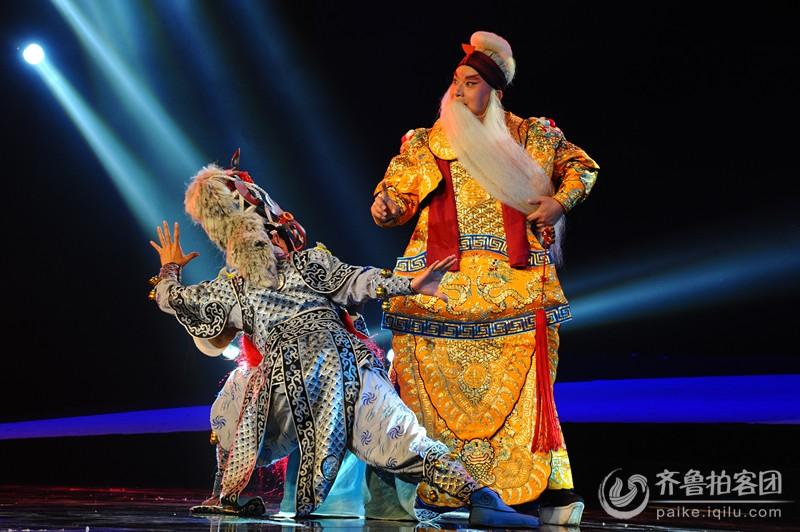 每日一片1172传统文化 民族魁宝—山东梆子剧照《杨业