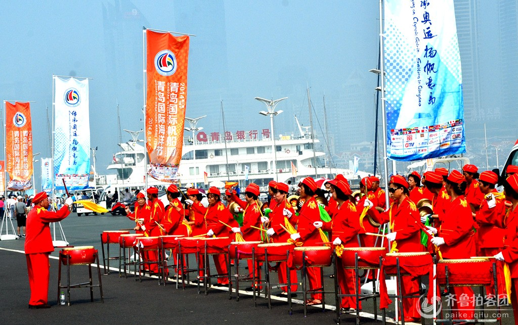 青岛国际海洋节开幂式