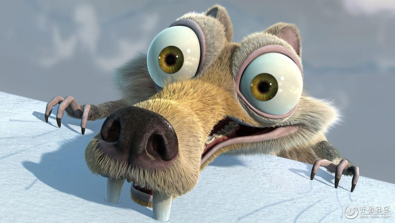 冰川时代 松鼠_冰河世纪松鼠 冰河世纪 松鼠 公仔