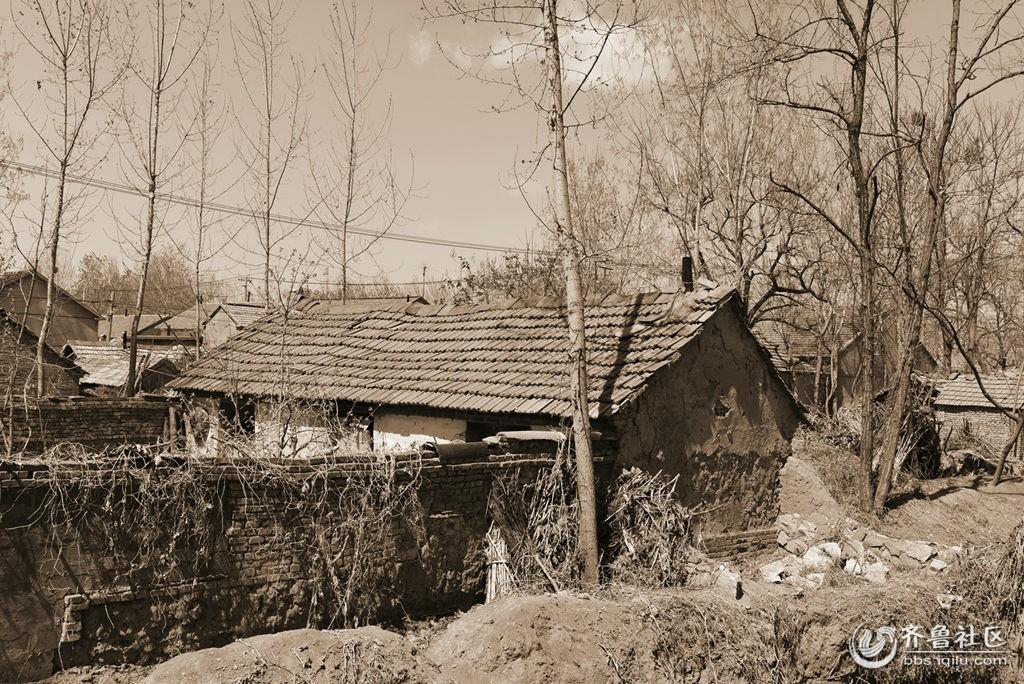 上世纪60年代初的农村老宅子