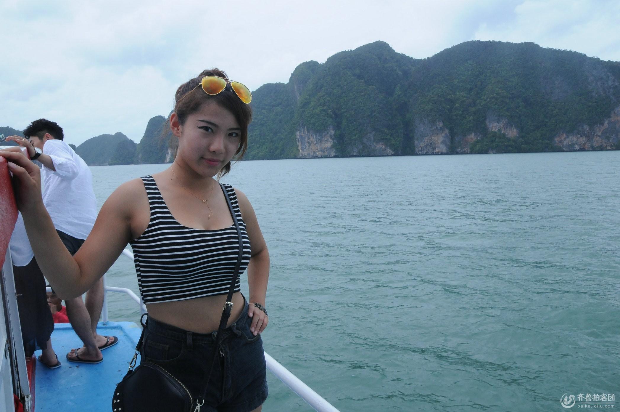 泰国游记:普吉岛出游第二天――同团遇美女