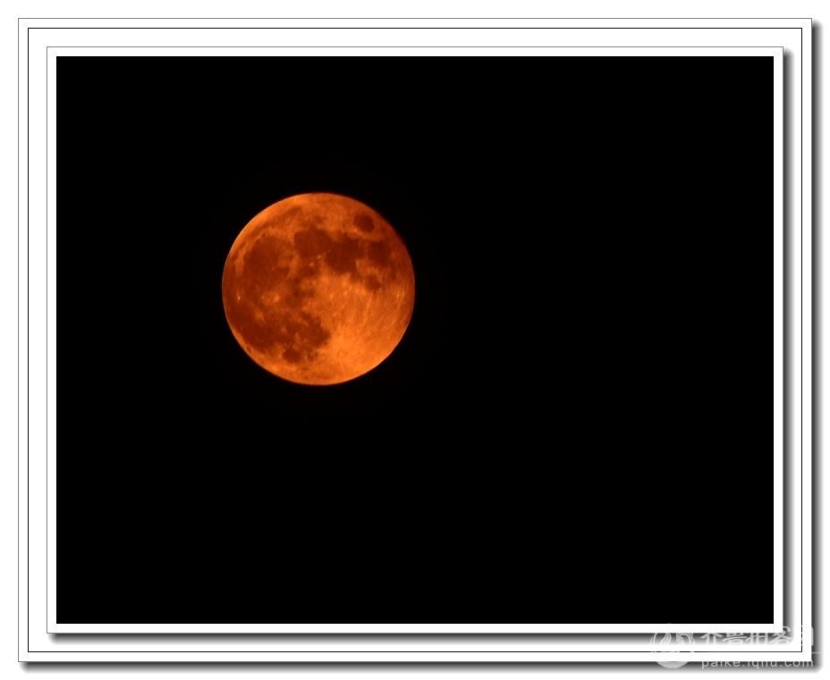 20141008月全食——红月亮