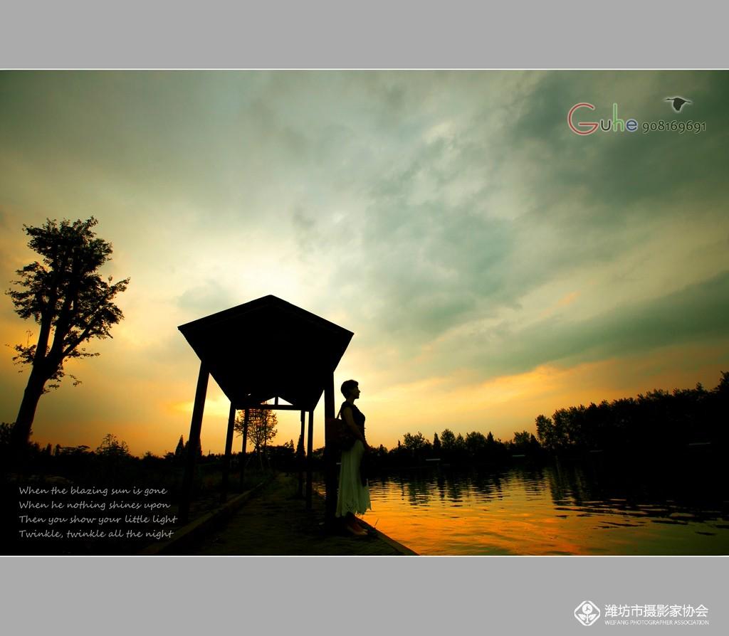 【孤鹤摄影】 夕阳西下