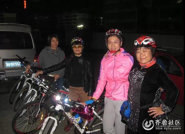 929齐鲁网沂水拍客团骑行队的首次骑行