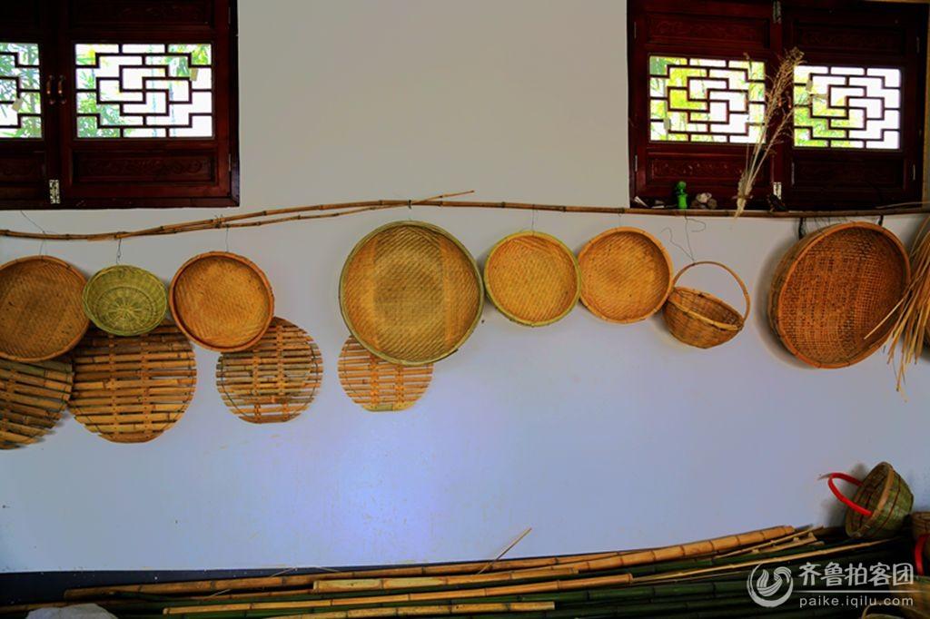 幼儿园竹筐装饰图片