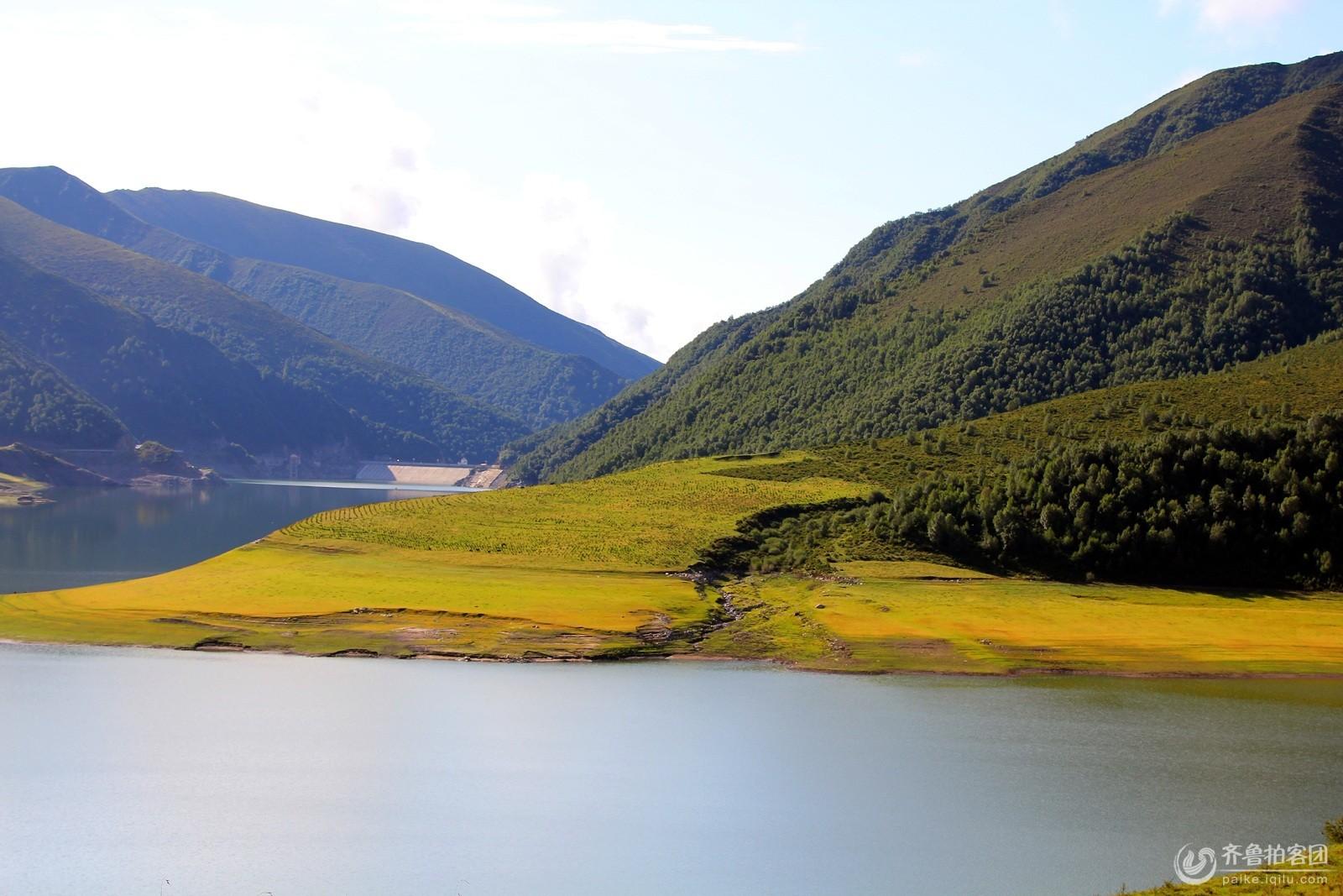 祁连山与青海湖