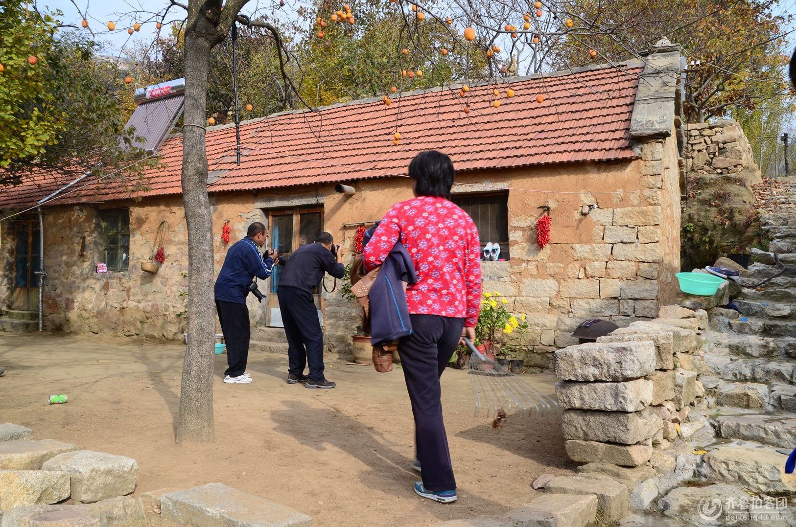 齐鲁拍客团郓城站走进沂蒙山革命老区进行采风活动图片
