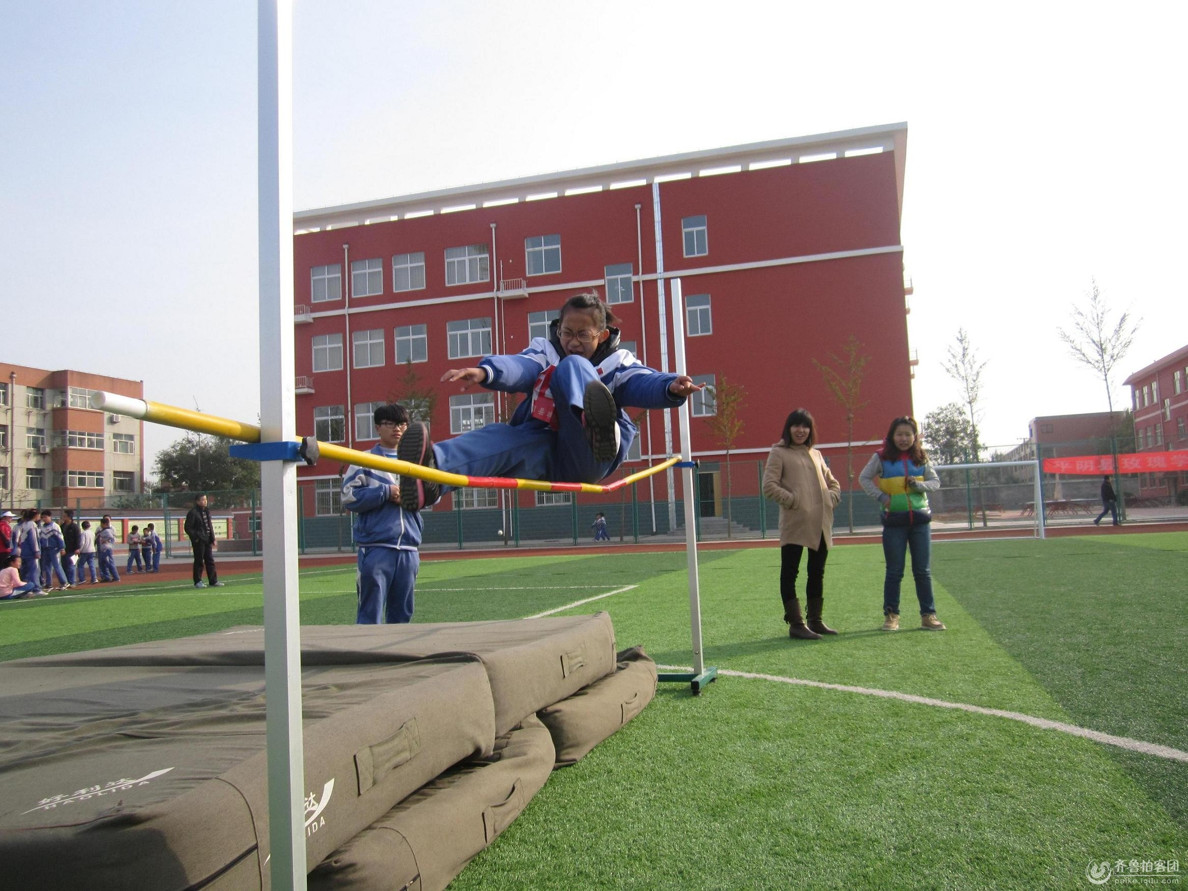 学校运动会也精彩