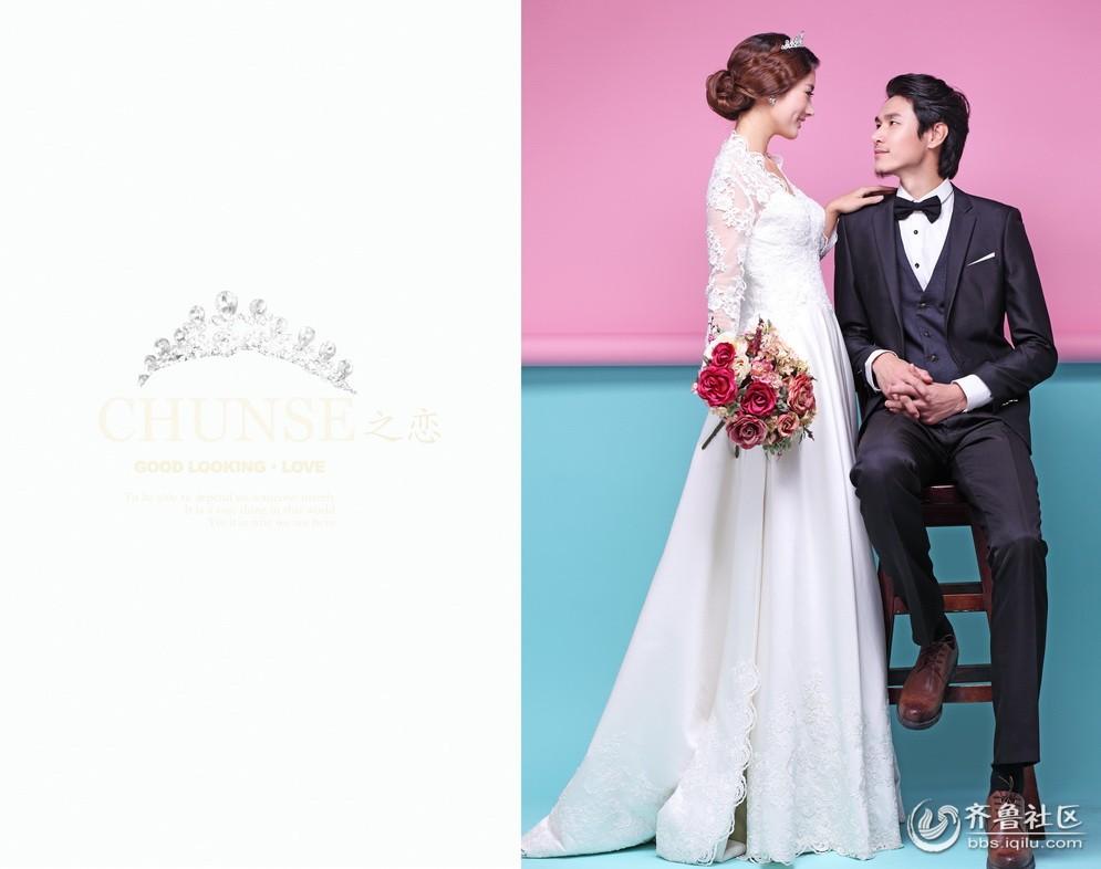 施华洛婚纱摄影韩式婚纱摄影特点解析