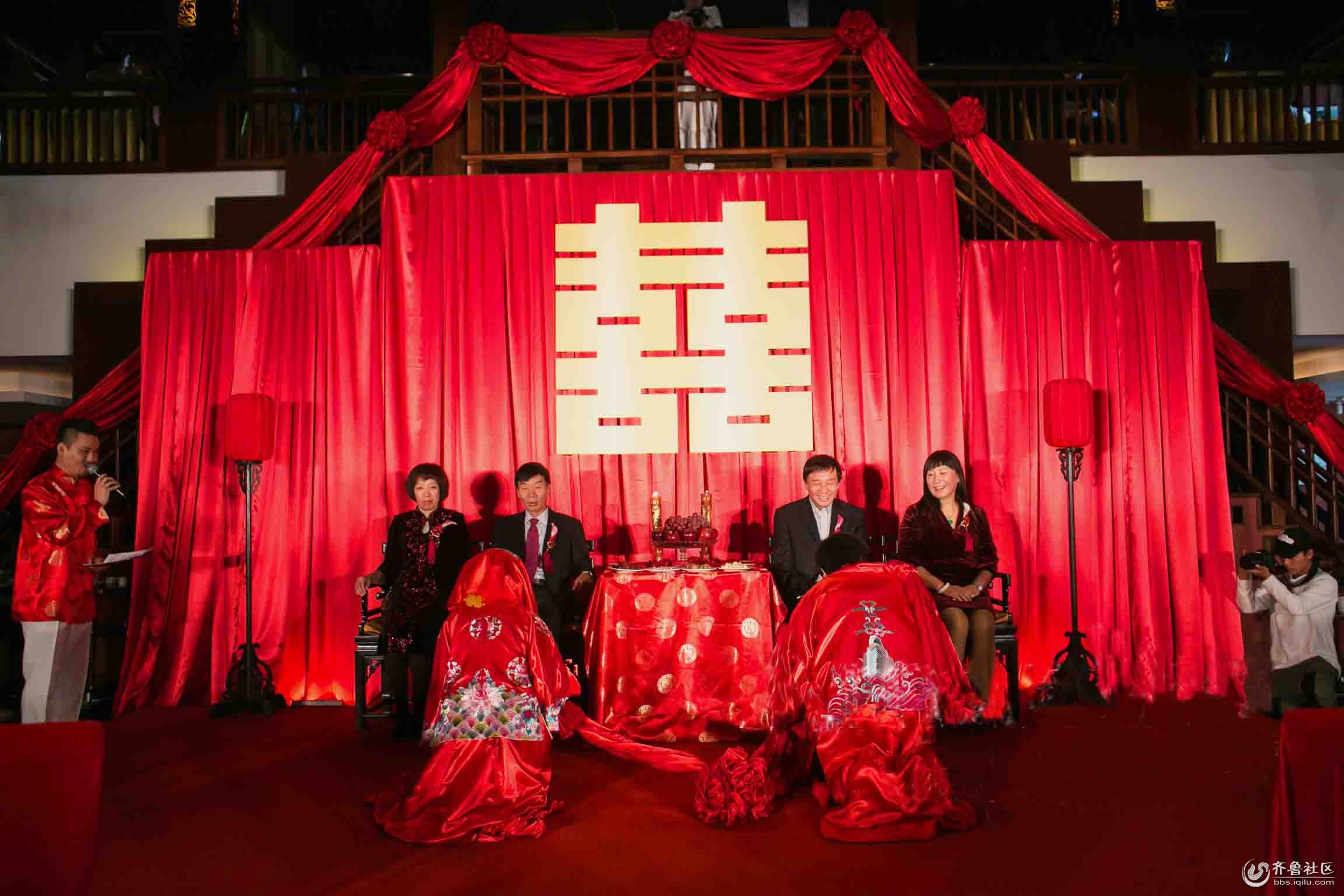 锦喜堂创意婚礼--西式够创意,中式更加专业
