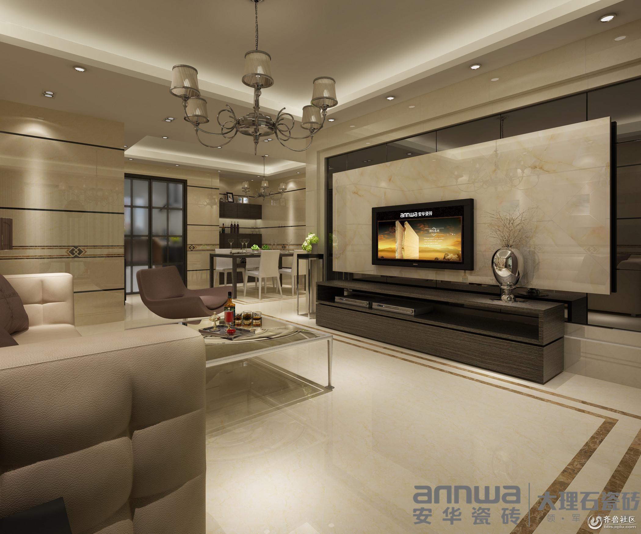 创意电视背景墙装饰法 打造客厅表情秀