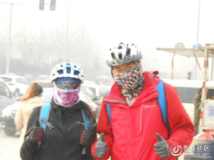 """来自河南郑州的两位骑友 """"水晶""""""""饮马长江"""""""