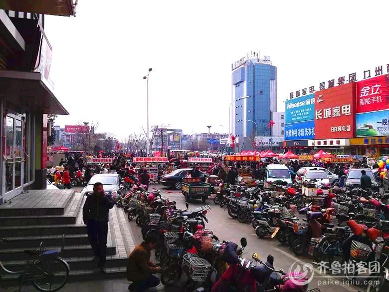 兖州:元宵佳节繁华热闹的街头美景