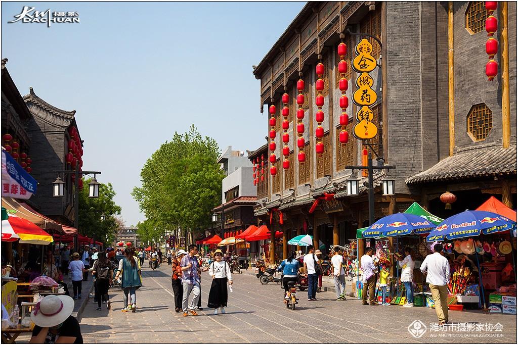 【数码组图】古城青州漫步之——街景古韵