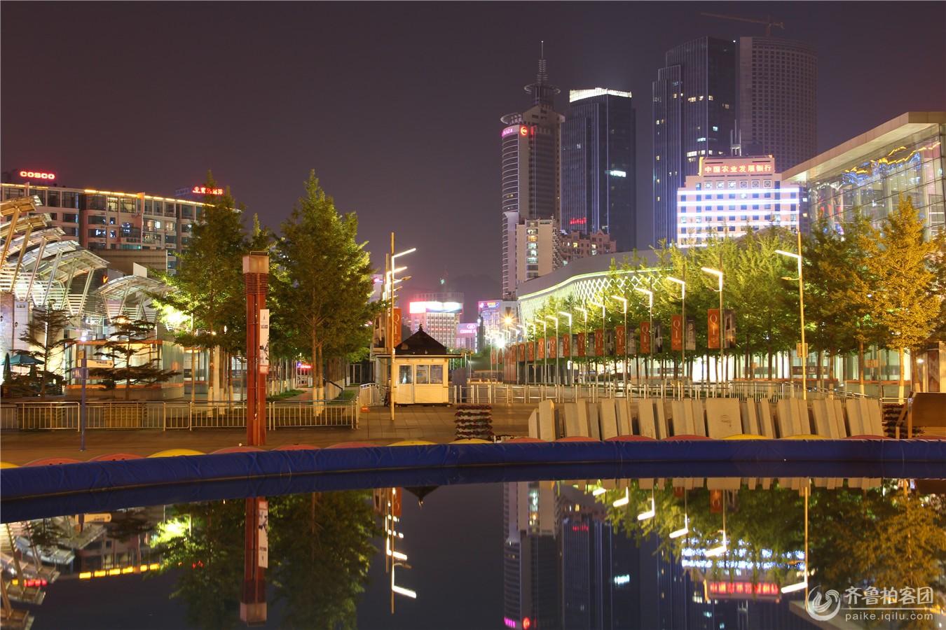 青岛, 美丽夜景