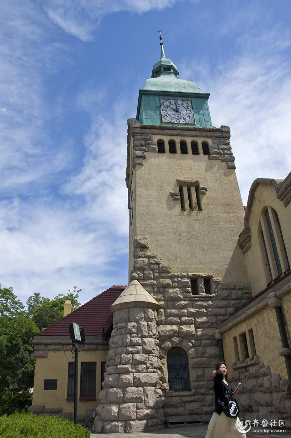 百年历史建筑---青岛基督教堂
