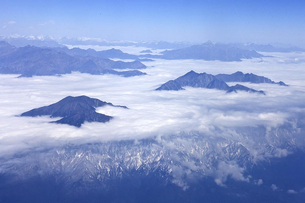 王亮朝尼泊尔风光摄影欣赏——鸟瞰佛国