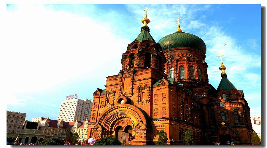 哈尔滨 --- 圣 索菲亚大教堂