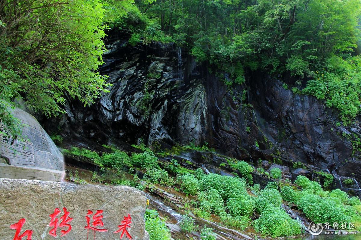 长白山望天鹅景区——奇石