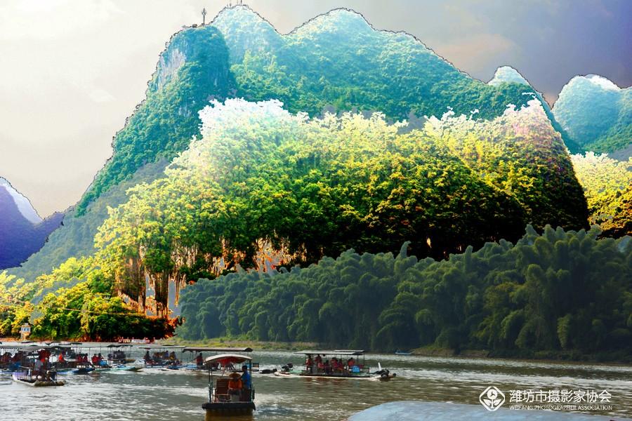 桂林山水漓江风景内容|桂林山水漓江风景版面设计