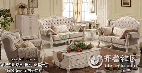 合肥名邦家具小编教你欧式布艺沙发如何搭配