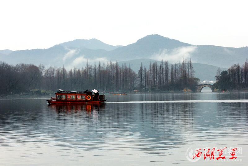 二月十一号拍于杭州西湖.