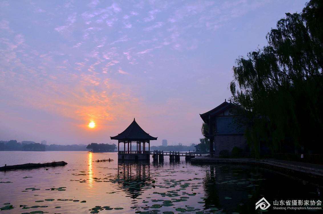 大明湖朝阳