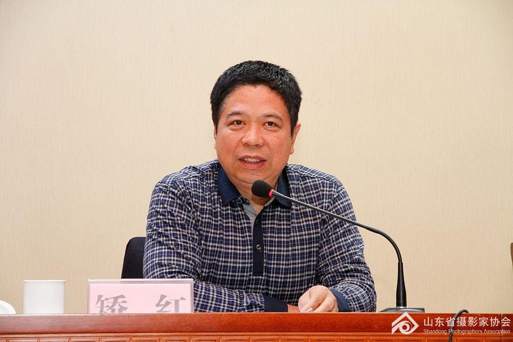 省文联党组成员、纪检组长矫红讲话