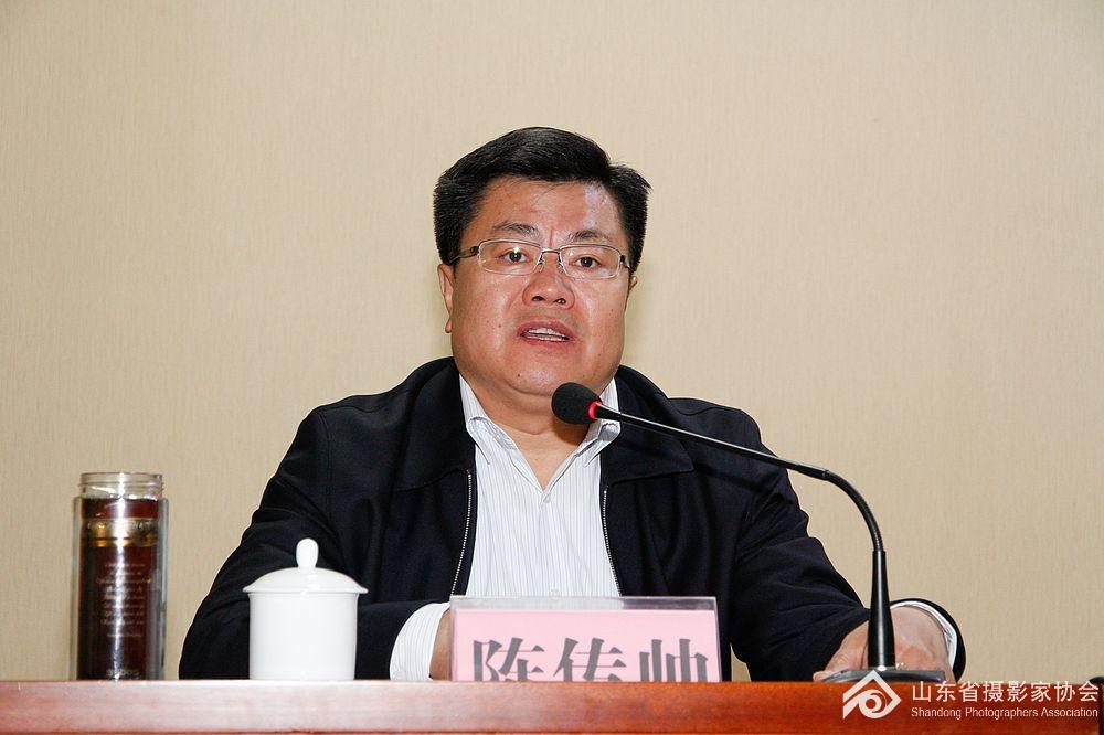 东平县县委常委、东平湖景区党工委书记陈传帅致辞