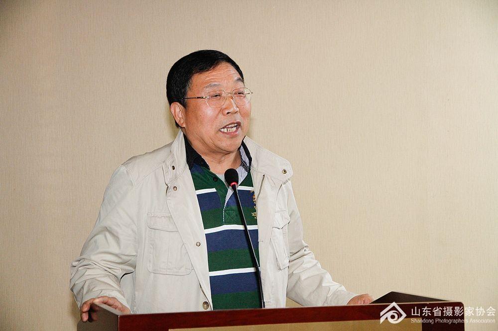 济南市摄影家协会主席王亮朝分享工作经验