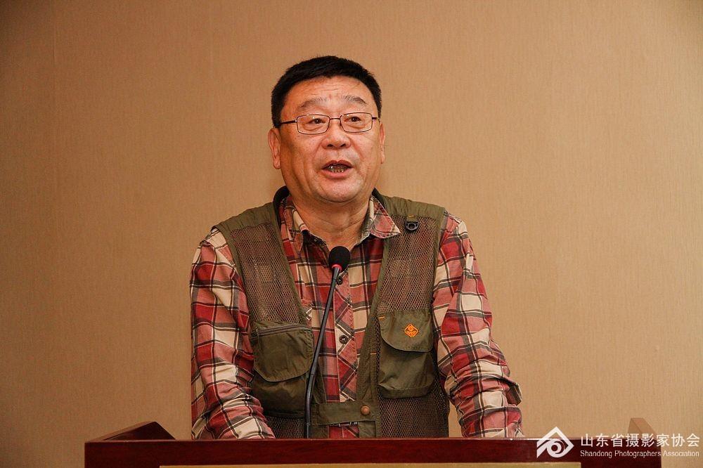 泰安市摄影家协会主席牛静涛分享工作经验