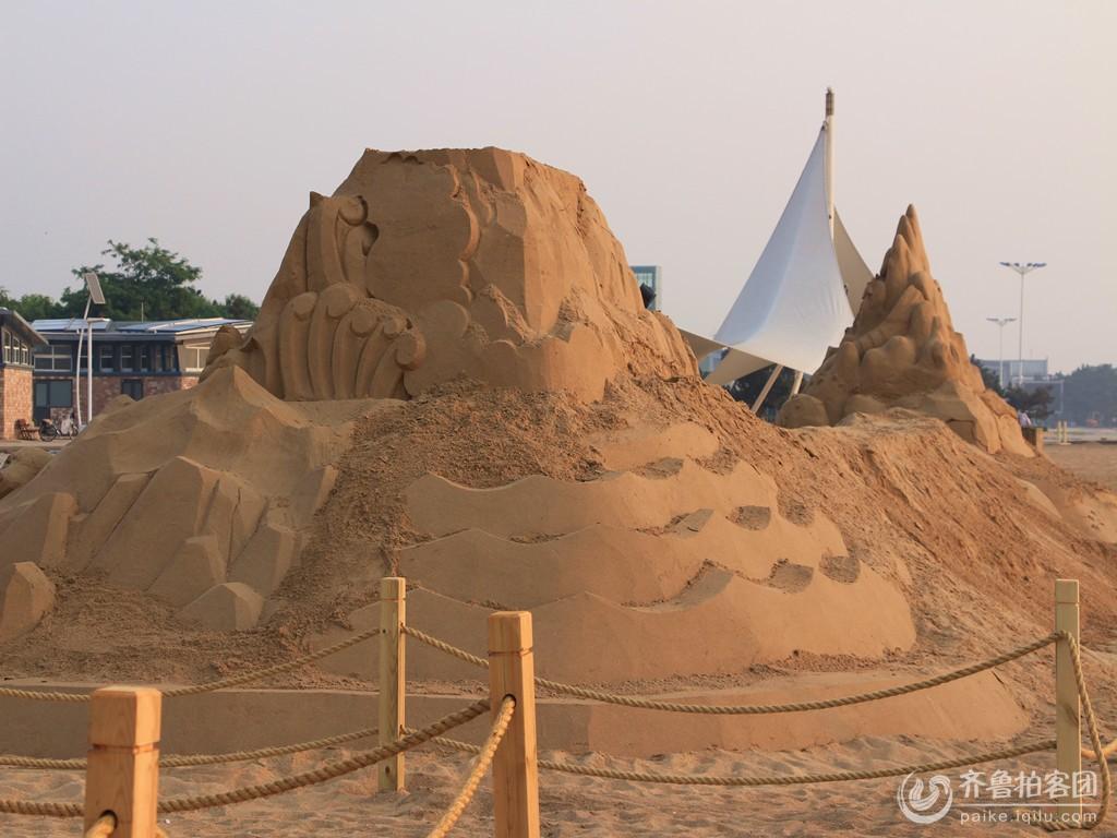 万平口沙雕艺术展