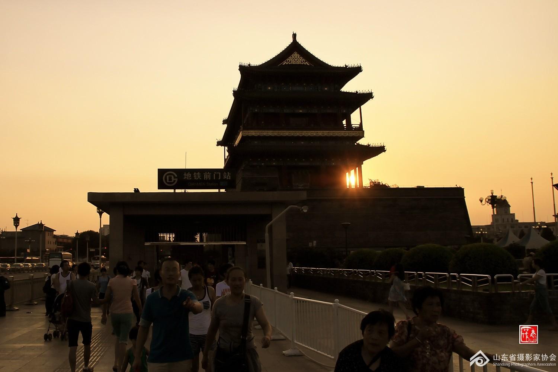 天安门广场黄昏颂