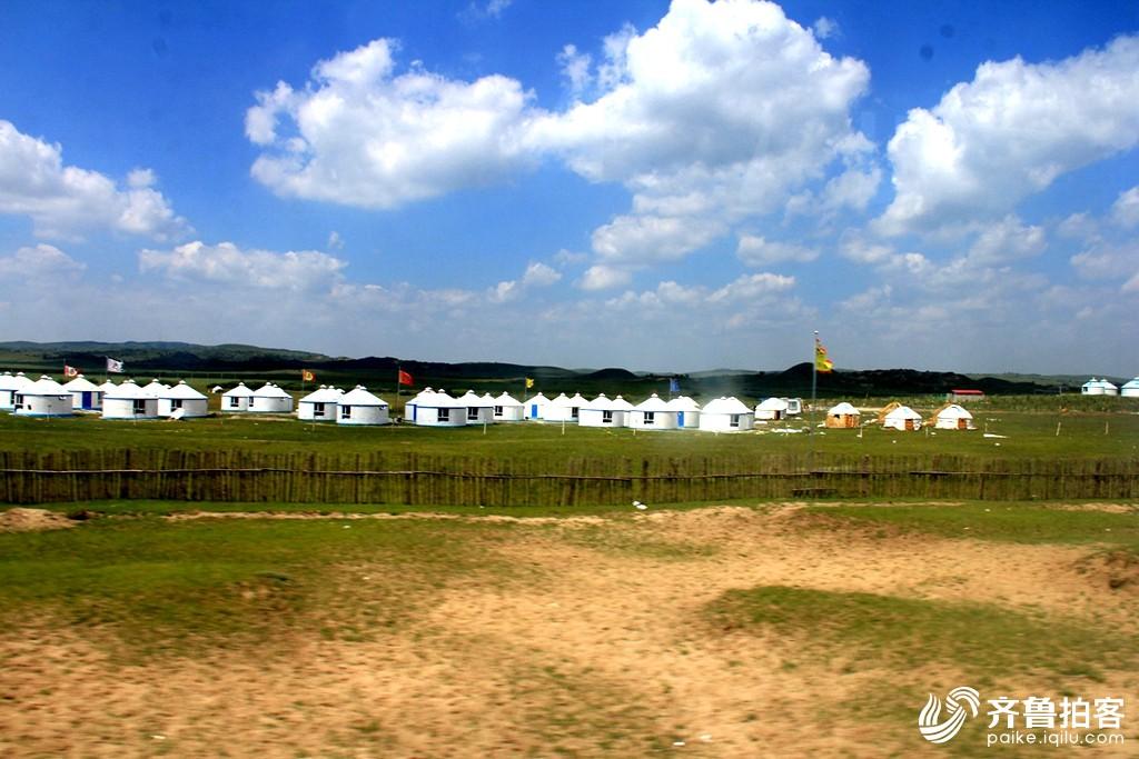 孤岛拍客内蒙古大草原釆风.十一.可汗大营