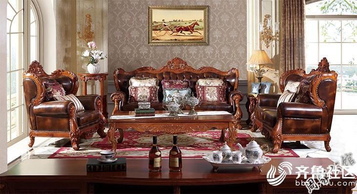 红木家具气韵非凡,将雍容雅致的欧式风格诠释的淋漓